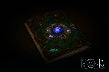 Glow in the dark magic journal - Copyright (c)Moha by Moha-jewelry