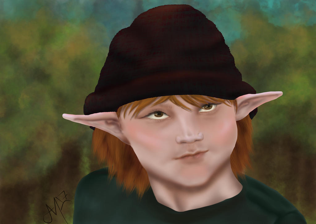 knit hat elf by ALMcNelly