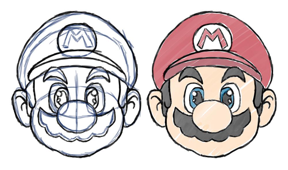 Mario Face By Bigshot232 On DeviantArt