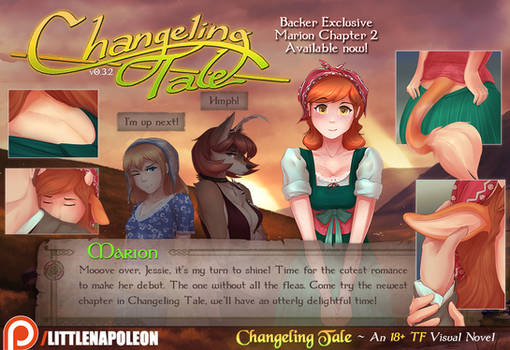 Changeling Tale - Marion's Chapter 2 Released!