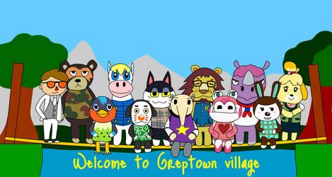 Animal Crossing New Leaf - Village Portrait