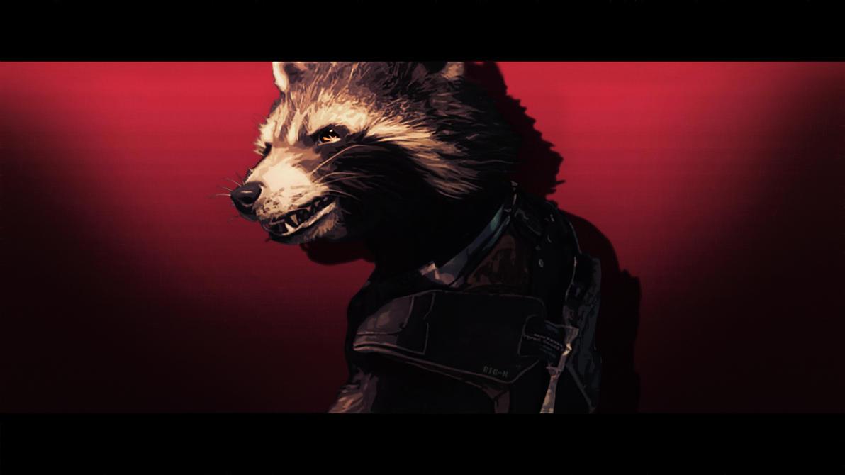 Rocket Raccoon Wallpaper 2 By BiigM