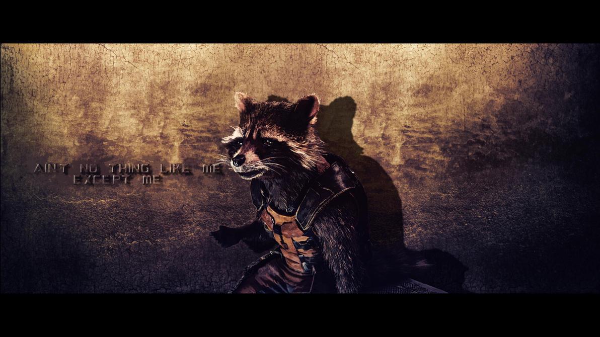 Rocket Raccoon Wallpaper 3 By BiigM
