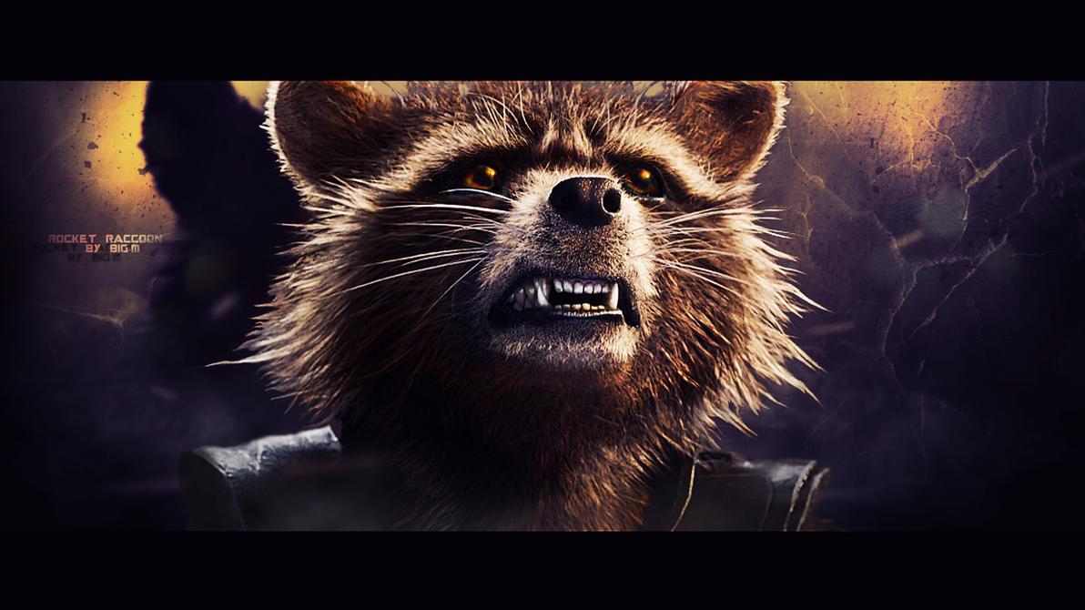 Rocket Raccoon Wallpaper 4 By BiigM