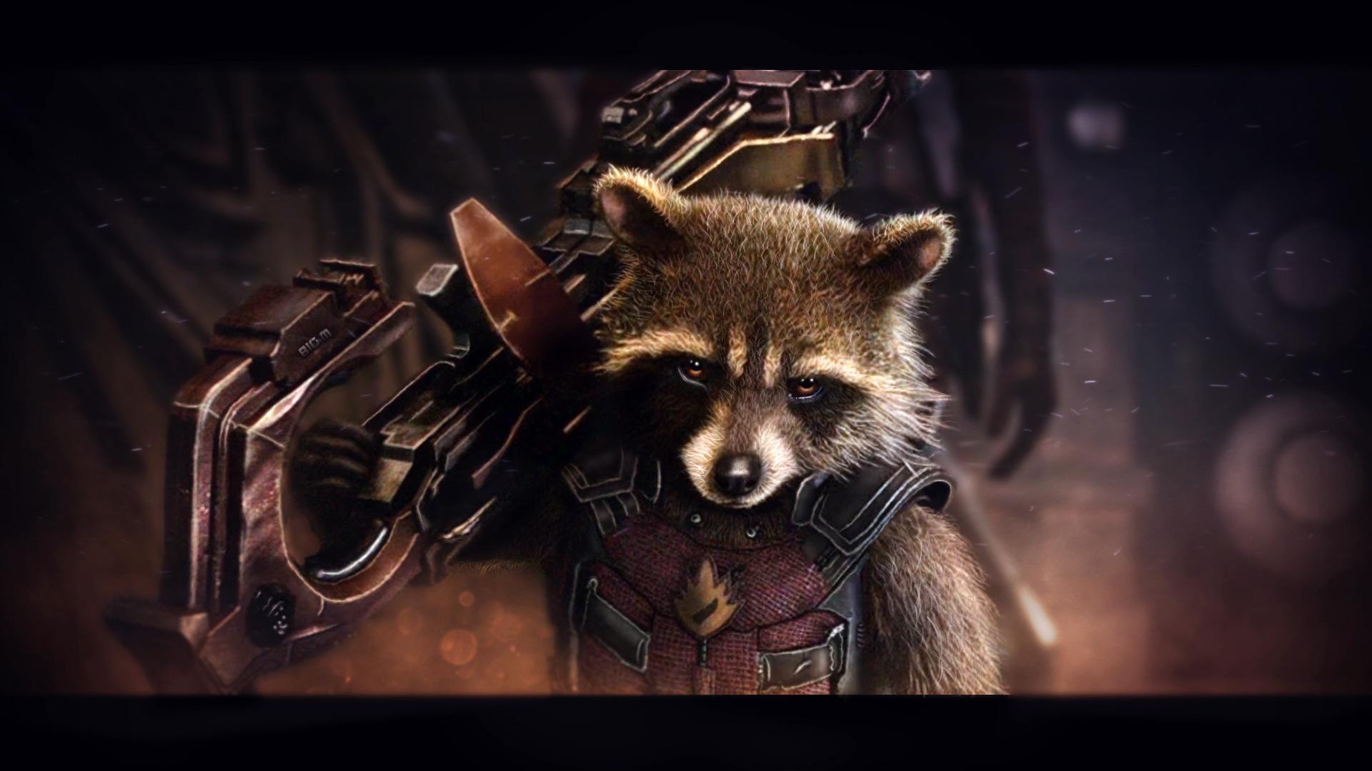 Rocket Raccoon Wallpaper 7 By BiigM