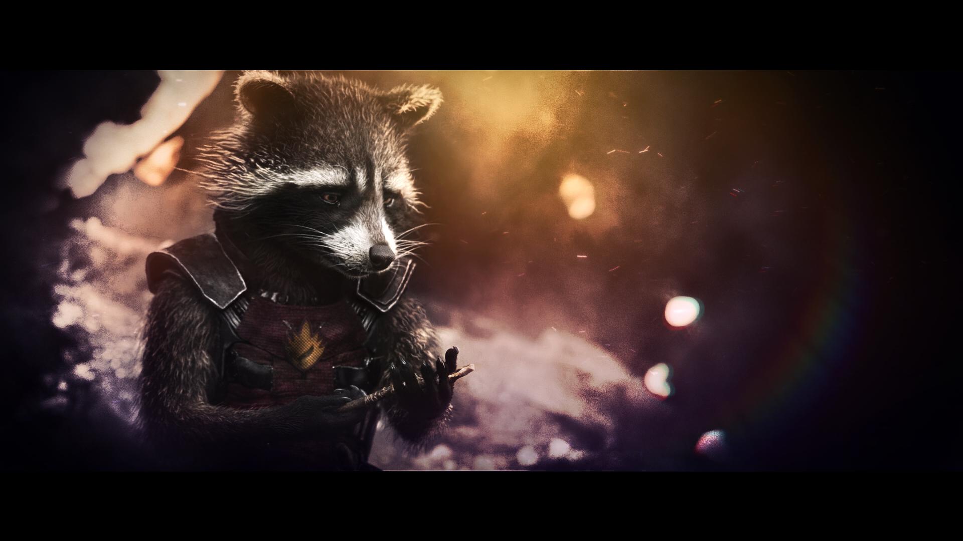 Rocket Raccoon Wallpaper 8 By BiigM