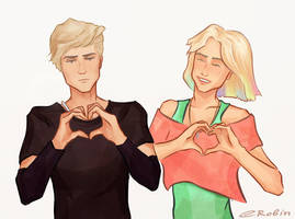 Renee and Andrew by cute-electrocute