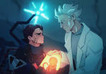 Rick and Morty AU: Death Stranding