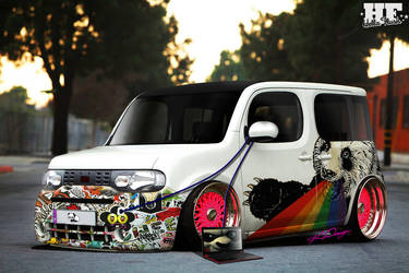 Nissan Cube Panda FTW