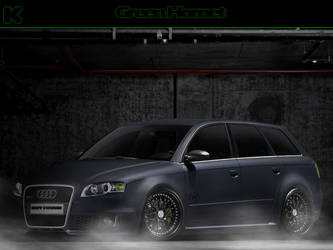 RS4 Green Hornet by KoOringa