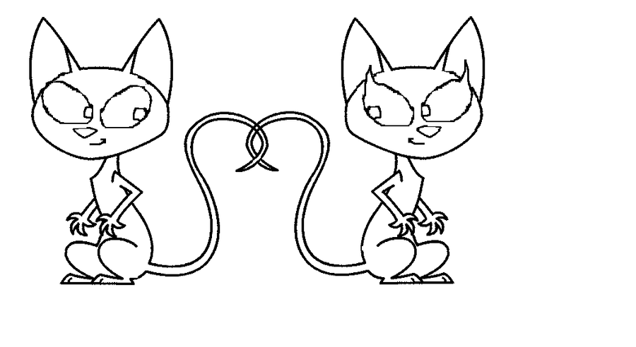 Kid vs. Kat coloring pages to print
