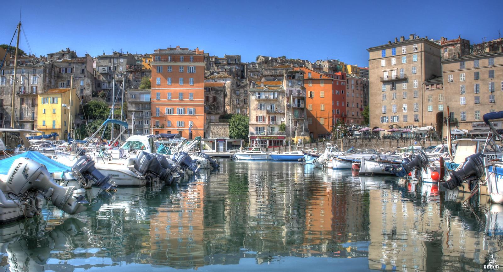 Le port de Bastia 3 by BoOdA6tem on DeviantArt