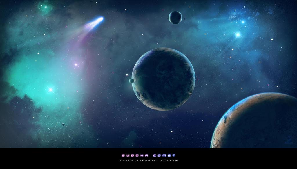 Buddha Comet by BoOdA6tem