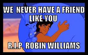 RIP ROBIN Williams by titanicdragon