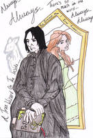 Robbertopoli-Severus and Lily by fashionnightmare12