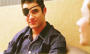 Blaine's MJ Eyepatch by fashionnightmare12
