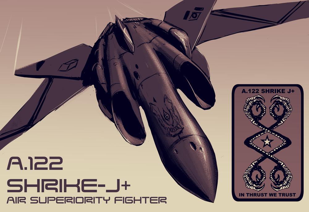 A.122 SHRIKE J+ by turbofanatic