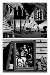 Shrine Comic: Page Three of Three