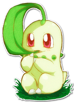 152 Chikorita by SarahRichford