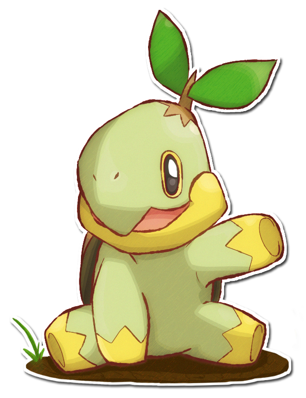 387 Turtwig By Sarahrichford On Deviantart