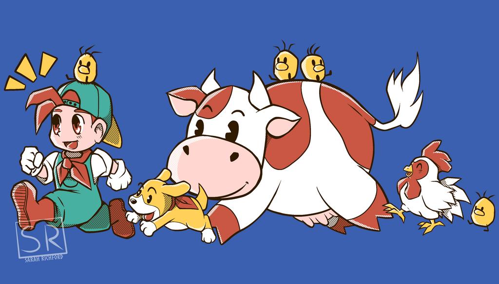 Farming is fun - Harvest Moon by SarahRichford