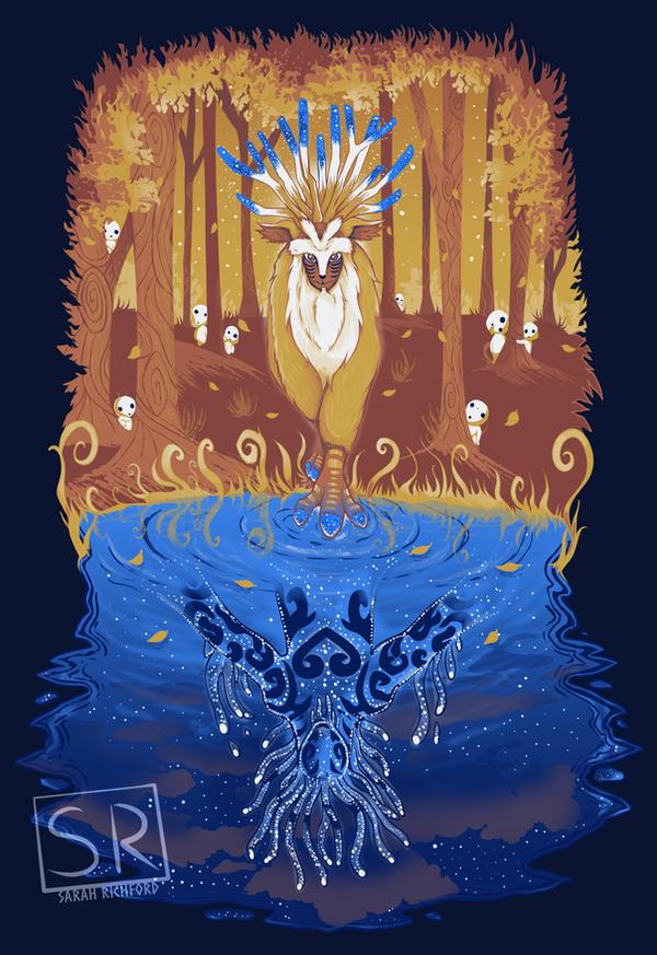 Autumn Forest Spirit by SarahRichford