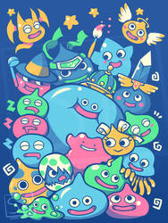 SLIME PARTY - shirt design
