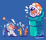 Wrong Planet - Pikmin Shirt design
