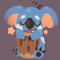 Nekkoala new adorable Koala pokemon by SarahRichford