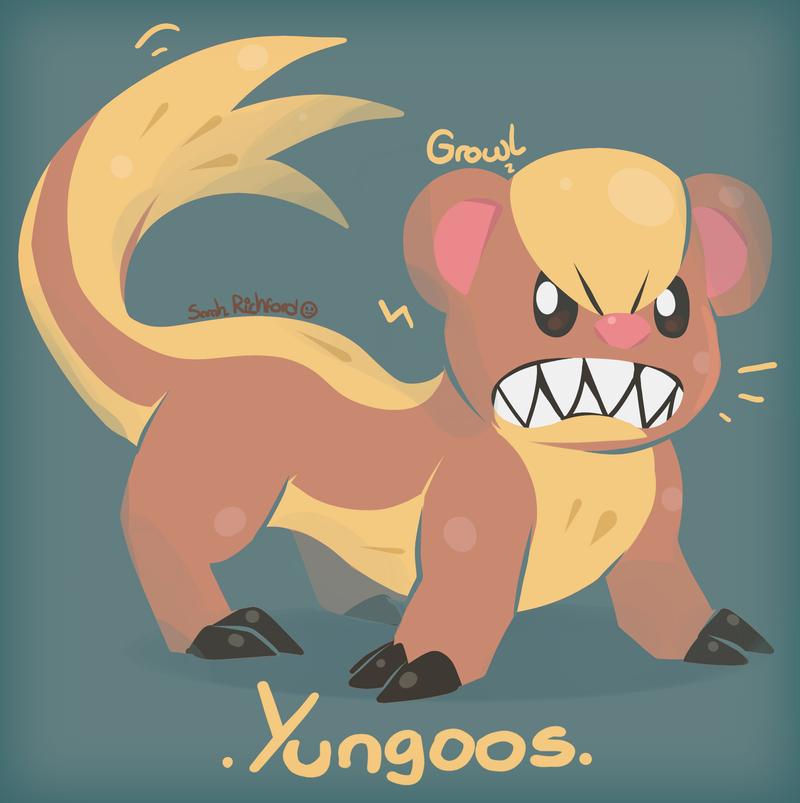 Yungoos, the Trump Pokemon by SarahRichford