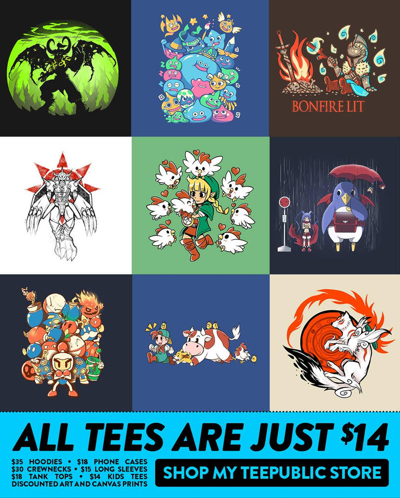 TeePublic sale, my shirts are on sale 6 hours left by SarahRichford