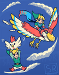 A Better Way to Fly - LoZ Shirt design