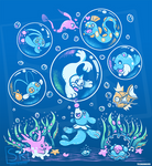 Bubble Popp - Shirt design by SarahRichford