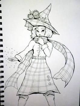 Inktober x 31 Witches Day 31 - Free Draw