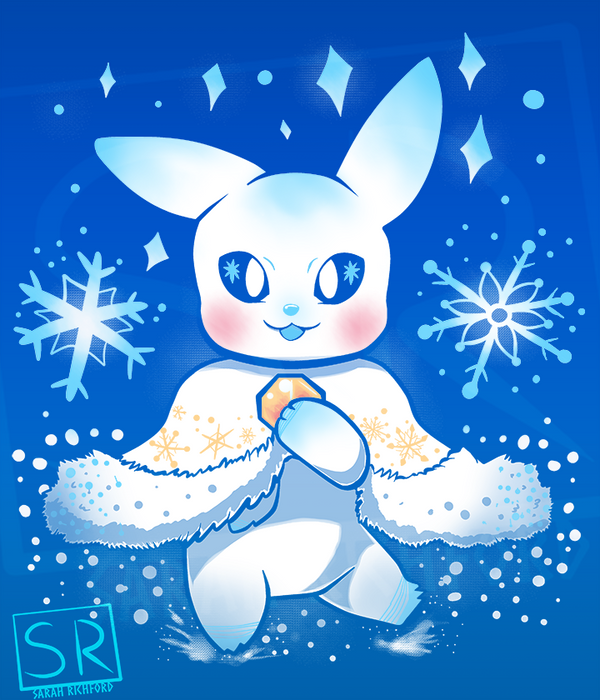 Festive Chu Christmas - Shirt design by SarahRichford