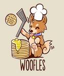 I'm making woofles