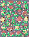 SO many turtles pattern