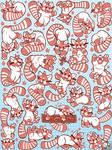 RED PANDAS by SarahRichford