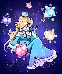 Cosmic Princess - Rosalina shirt design