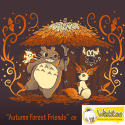 Autumn Forest Friends shirt print *ended*