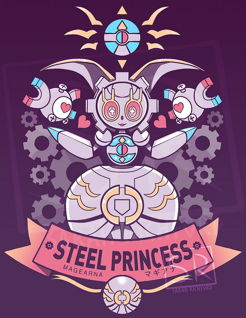 Steel Princess - Magearna by SarahRichford