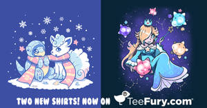 2 new designs of mines have been added to TeeFury!