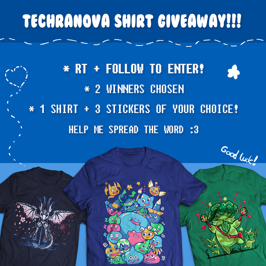 TWITTER - My shirt giveaway! LAST DAY by SarahRichford