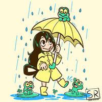 Best Frog Girl - Boku No Hero Academia Shirtdesign by SarahRichford
