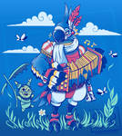 Play the Ancient Song Kass (Shirt Design) by SarahRichford