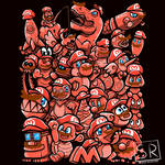 Cappy Party - Mario Odyssey Shirt design (Red) by SarahRichford