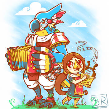 Bird Bards Day Version - Kass and Medli