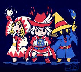 The Three Mages - TechraNova