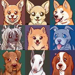 Doggo portraits Part 2
