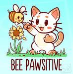 Bee Pawsitive - TechraNova Design by SarahRichford